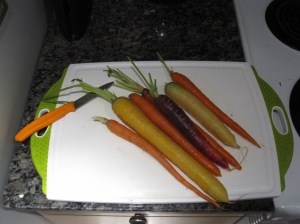 carrotsColourful